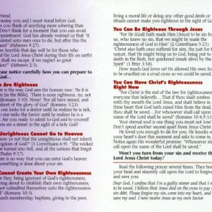 Tracts By Lyons – Gospel tracts, Christian tracts, Bible tracts